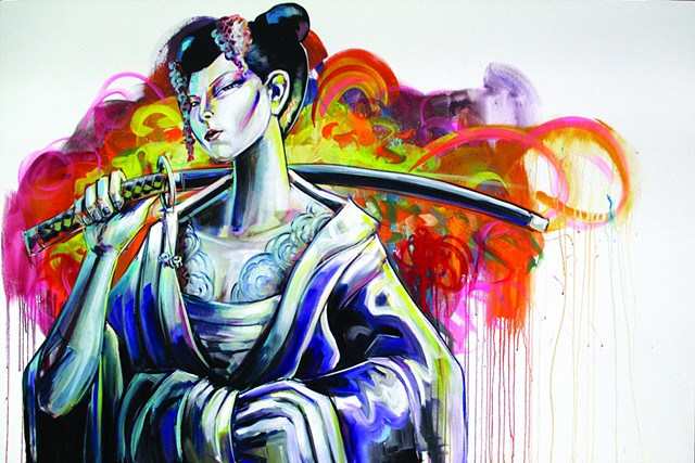 """Geisha 8"" Sushi 8 commission"