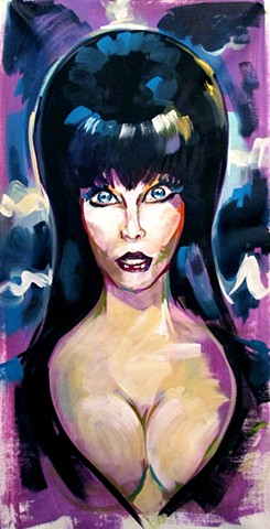 Mad Monster Party Elvira Commission
