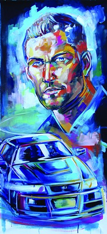 """""Paul Walker Memorial commission"""