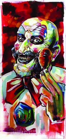 "Captain Spaulding (""Scares that care"" weekend commission)"