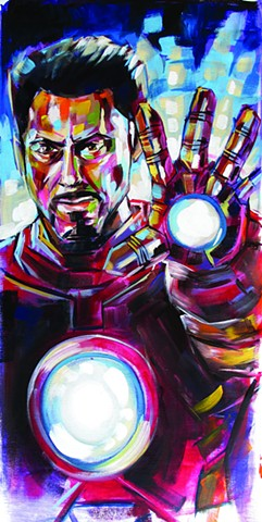 """Mark 3"" Jay and eddie's comicon 2014 Iron man commission"