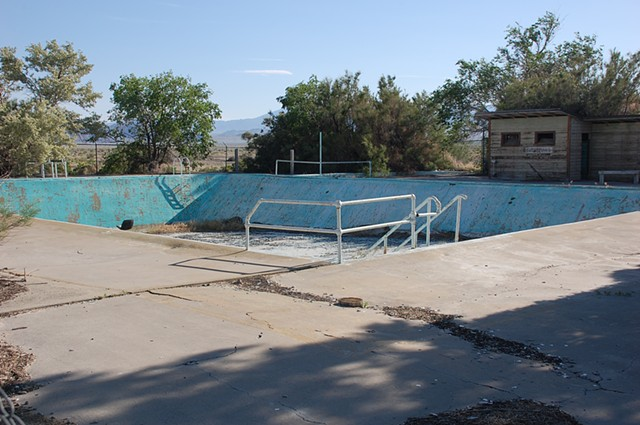 Abandoned Airforce Base Swimming Pool Wendover, UT