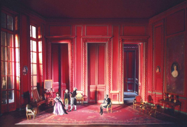 Act II, Paris, Set Model