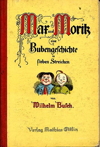 Original story-book cover