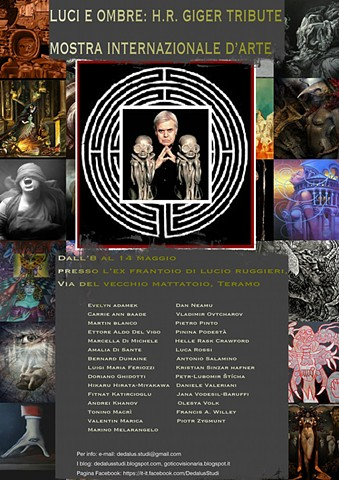 HR Giger group exhibition
