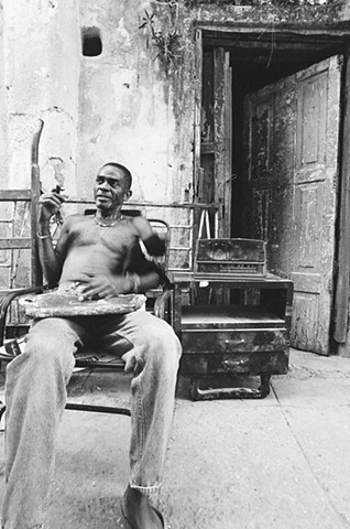 Storyteller in Old Havana