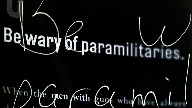 Lesson 5 (Timothy Snyder): Paramilitaries