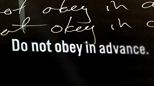 Lesson 5 (Timothy Snyder): Do Not Obey