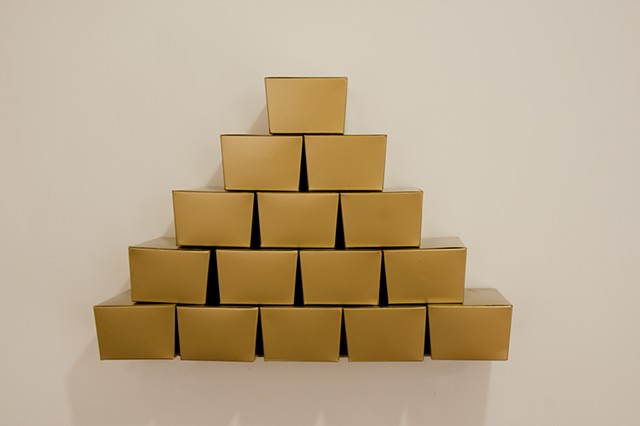 boxes of gold