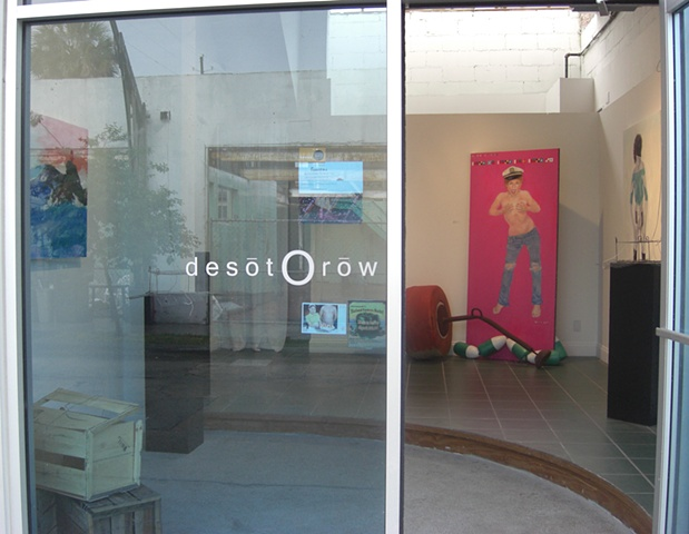 DeSoto Row Gallery Space