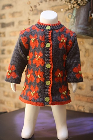 Child's Sweater, Knit 1, Chicago