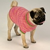 Custom Knit Dog Sweater, 8 to 10 inch length