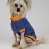 Custom Knit Dog Sweater, 14 inch length