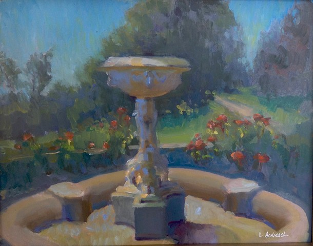 Plein Air sketch by Lauren Andreach.