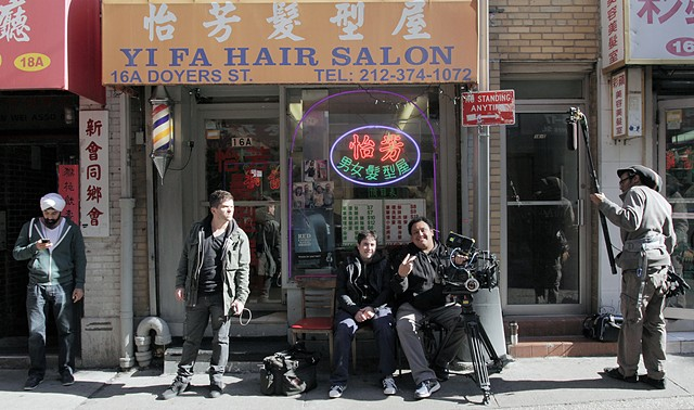 Cast & Crew in Chinatown