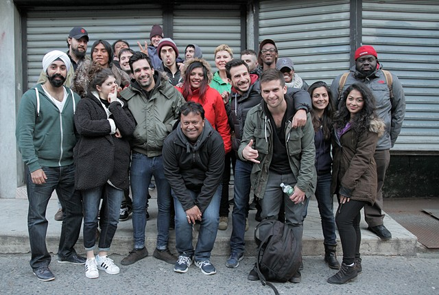 Cast & Crew at Wrap