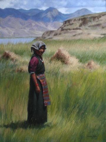Tibetan Harvest