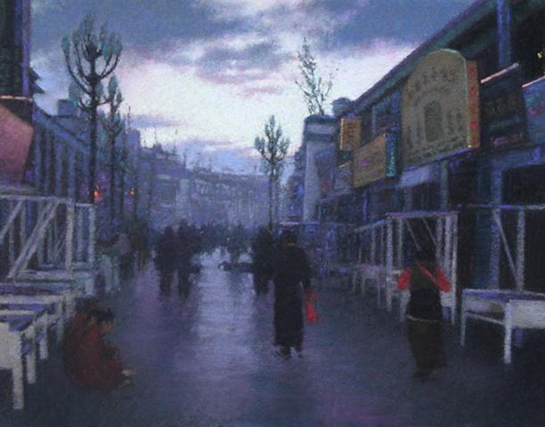 Lhasa at Dawn