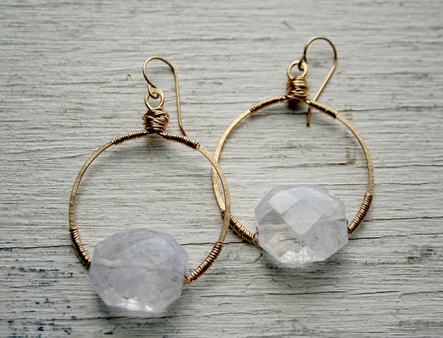 Diana Quartz Earrings