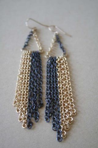 Chain Gang Earring