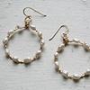 Laurel Earrings in Gold