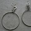 Rope Hoop Earrings