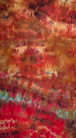 Art Cloth Hand dyed Cotton