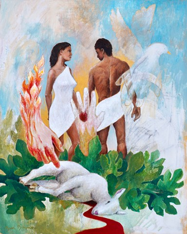The Expulsion from Paradise (The LORD God clothed Adam and Eve)