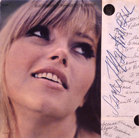 LP Cover Signature
