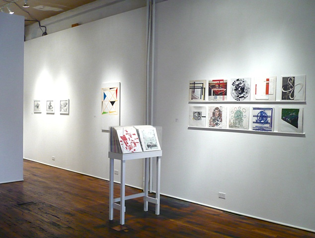 Installation Shot, Light Of Day. William Busta Gallery. Cleveland, Ohio
