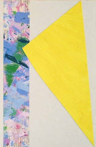 Untitled-Yellow Triangle