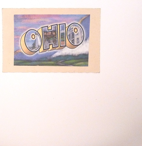 "ohio / build you up 7"" split eau records"