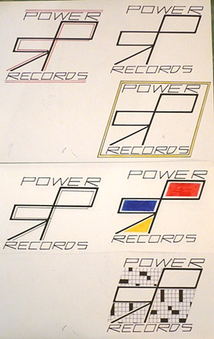 POWER RECORDS COLLABORATION LOGOS