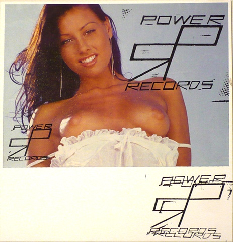 Power Records First 7 Inch Single. Individually Collaged Covers An Edition Numbered 1-500.