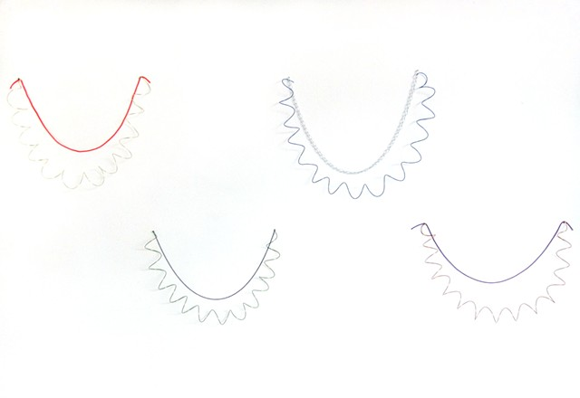Wire Necklaces