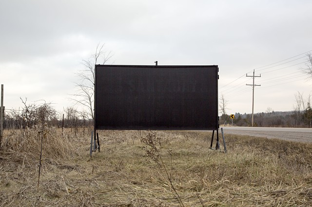 signs and billboards by Walter Segers