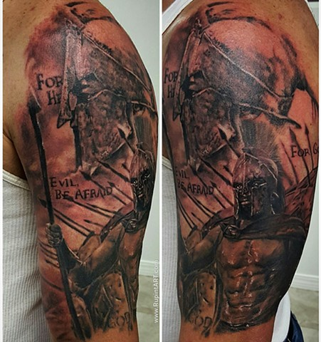 trojan warrior tattoo images galleries with a bite. Black Bedroom Furniture Sets. Home Design Ideas