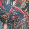 zombie pirate 1/2sleeve