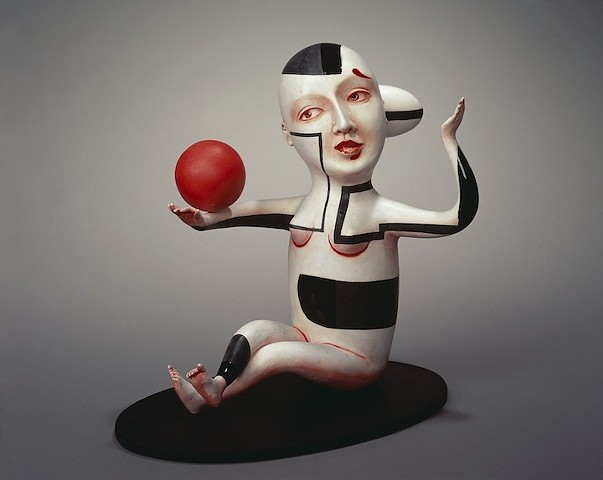 """Figure C"" with Red Ball"