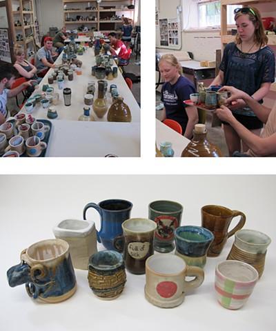 Ceramics 2 Class Spring 2013