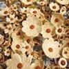 "Camper Tree Lawn Ceramic, foam Flower diameters vary from 2""-5"" 2012"