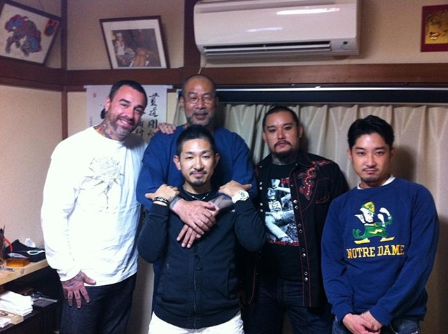 Horikyo tattoo family, my proud heritage