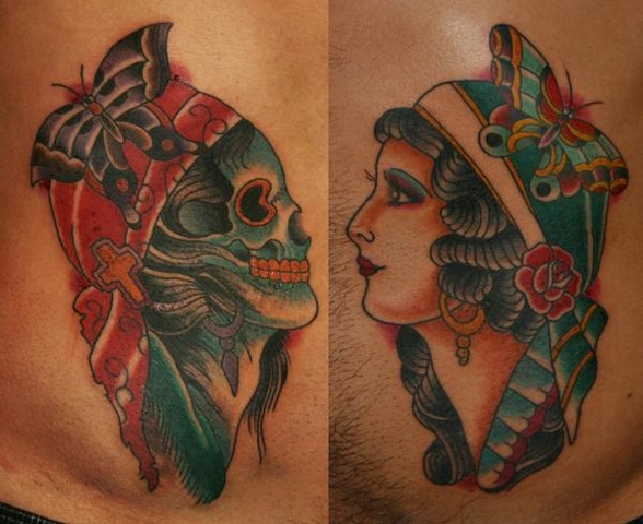 traditional woman tattoos