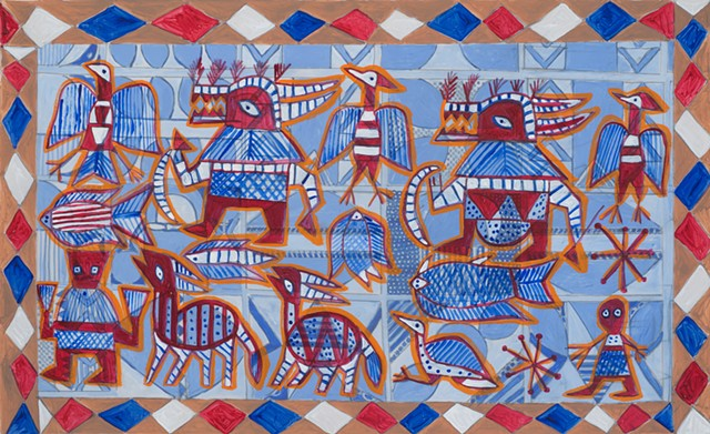 Nigerian and Malian design and art