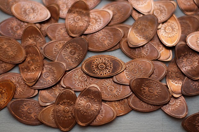 New (Smashed) Capital (Penny)