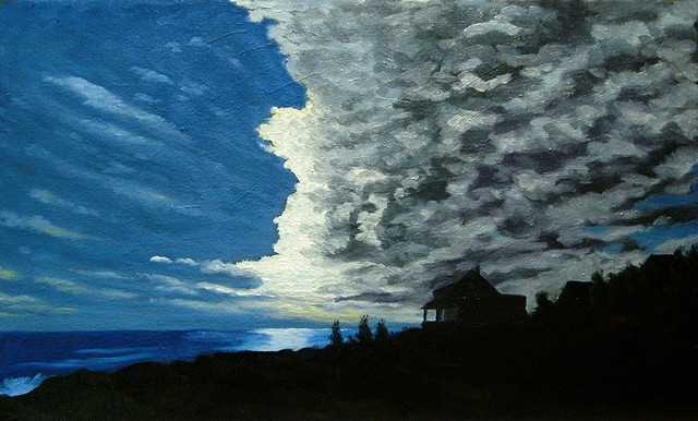 Bright Sunset, Monhegan