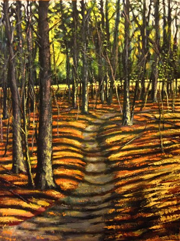 Late Afternoon Path - SOLD