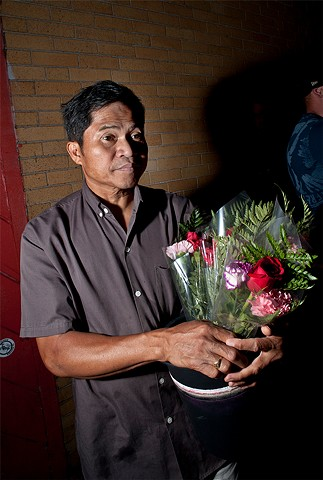 late night flower seller, 7-30-11