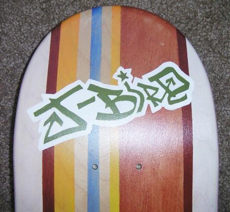 joshua's skateboard (detail- j-bird)
