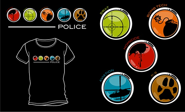 police division - icons